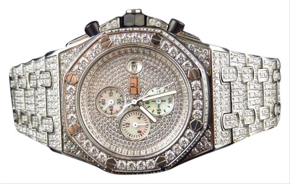 74bcd70a0a08a Iced Mens Jewelry Unlimited Jojino Joe Rodeo Simulated Diamond 43mm Ap-01  Watch 84% off retail