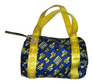 Harajuku Lovers Tote in Blue Yellow