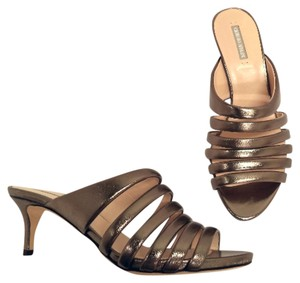 Giorgio Armani Tria Boutique Dress Pewter Sandals