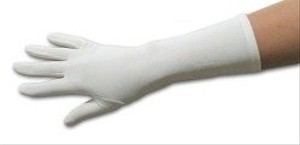 Ivory/ Gloves-ivory-matte Satin-under Elbow Length Gloves