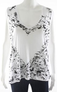 Lauren Moshi Edgy Top White Black