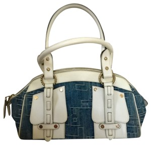 Roberto Cavalli Satchel in White