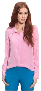 Diane von Furstenberg Button Down Shirt Pink