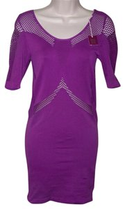 Poof! Apparel Small Medium Bodycon Dress