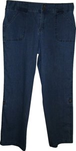 White Stag Straight Leg Jeans-Medium Wash