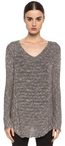 Helmut Lang Cotton Linen Maternity Vince Sweater