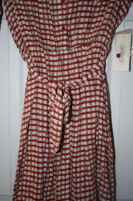 H & D short dress STRIPED on Tradesy