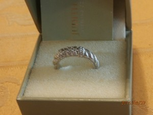 Judith Ripka Amazing Wedding Band Judith Ripka Sterling Silver Size 7
