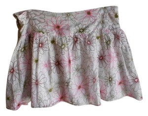 Lipsy Juniors European Floral Skirt White