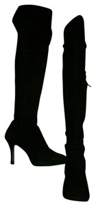 532aa59dc54e Other Suede Comfortable Thigh High Leather Black Boots