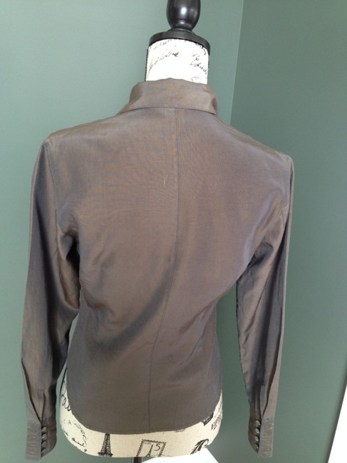 A|X Armani Exchange Top Greenist brown