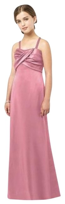 After Six Junior Bridesmaid Straples Satin Dress