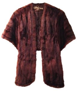 Other Mink Wrap Stole Vintage Fur Gatsby Hollywood Glamour Winter Christmas Gift Mad Men Cape