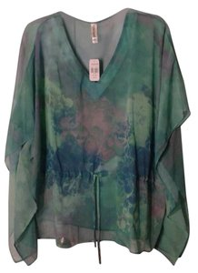 Decorated Originals Tradesy Woman Clothing Tweet Top Blue/Green