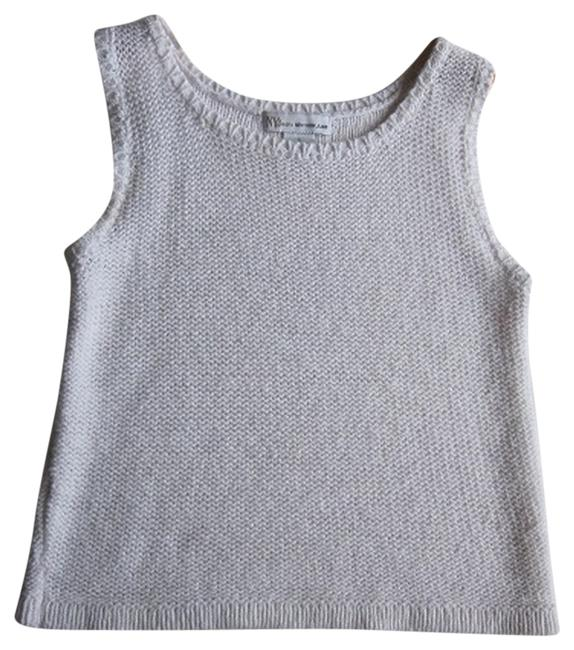 New York & Company Yor Jeans Knitted Top White