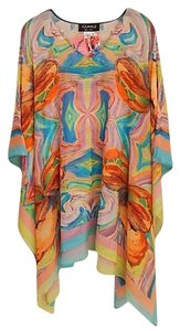 Dilemma Hand Painted Vital Inspired Rayon Unique Tunic