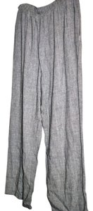Clio Baggy Pants Black and white Tweedy pattern
