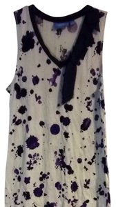 Simply Vera Vera Wang Top Winter White & Purple