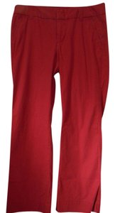Gap Trouser Pants Red