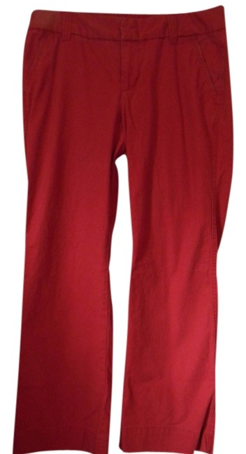 Preload https://img-static.tradesy.com/item/813804/gap-red-trousers-size-12-l-32-33-0-0-650-650.jpg