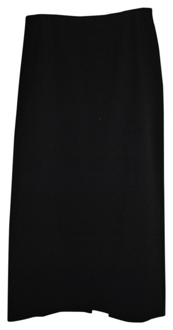 Clio 95%polyester 5% Lycra Hand Wash Cold Line Dry Maxi Skirt Black