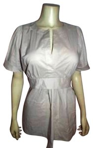 BCBGMAXAZRIA Bcbg Maxazria Size Medium Top LIGHT BEIGE