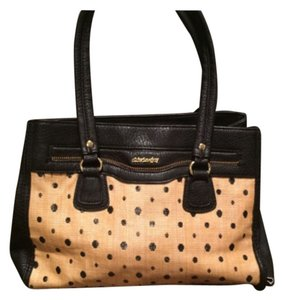 Olivia + Joy Satchel in Black/Brown