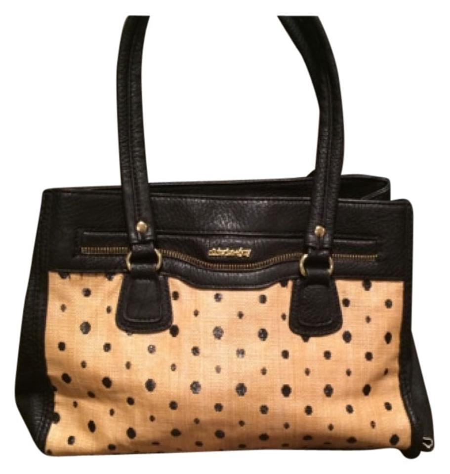 Olivia Joy Satchel In Black Brown