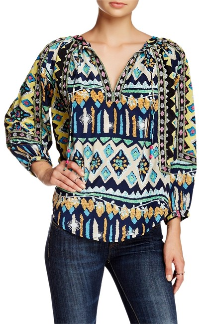 Preload https://img-static.tradesy.com/item/8139946/kas-new-york-butterfly-print-isi-peasant-blouse-size-4-s-0-2-650-650.jpg