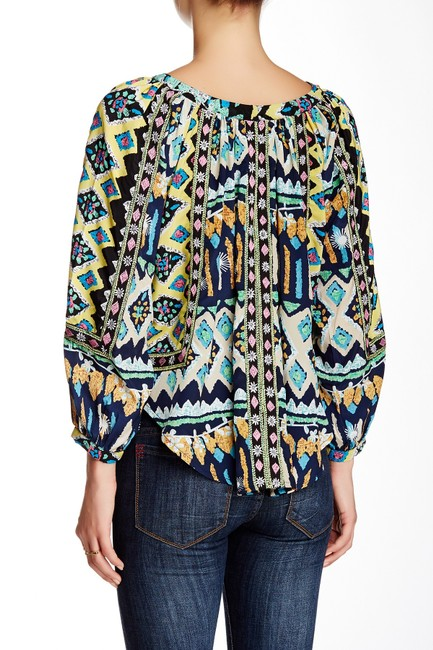 KAS New York Top Butterfly Print Image 1