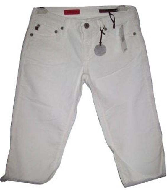 Preload https://item5.tradesy.com/images/ag-adriano-goldschmied-white-capris-size-12-l-31-32-814-0-0.jpg?width=400&height=650