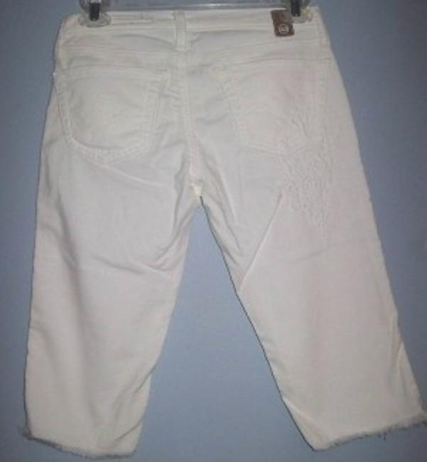 AG Adriano Goldschmied Capris White