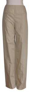 Chanel Vintage Pant Casual Wide Leg Pants BEIGE