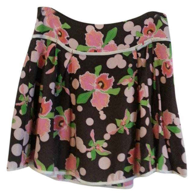 Petro Zillia Skirt Brown and Pinks