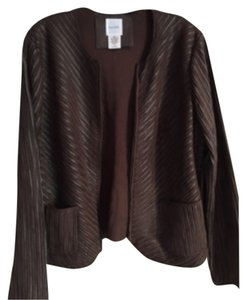 Kate Hill Brown Leather Jacket