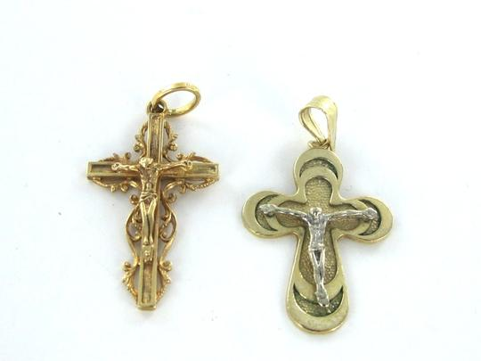 Other STUNNING CRUCIFIX SOLID 14 KARAT SOLID GOLD Image 1