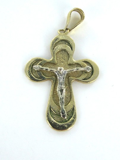 Other STUNNING CRUCIFIX SOLID 14 KARAT SOLID GOLD