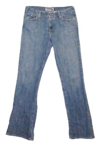 Old Navy Ultra Low Waist Flare Leg Jeans-Medium Wash