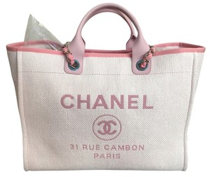 Chanel Tote in Pink