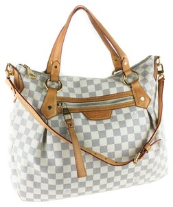 Louis Vuitton Hobo Tote in White