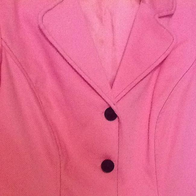 Other Pink With Black Buttons Jacket