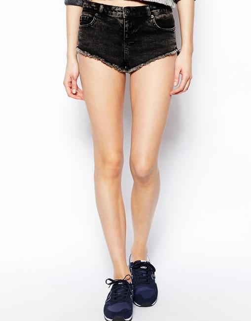 ASOS Planet Blue Blu Moon Free People Stone Cold Fox Blue Life Nightcap Lover And Friends Boho Stylestalker Nasty Gal Lover Mini/Short Shorts Black / Gray