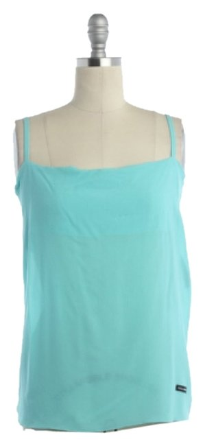 Preload https://img-static.tradesy.com/item/8142619/dolce-and-gabbana-turquoise-color-na-blouse-size-4-s-0-3-650-650.jpg
