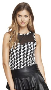 Express Day-to-night Night Out Top Houndstooth