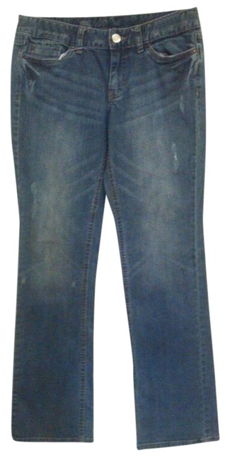 Mossimo Boot Cut Jeans-Medium Wash