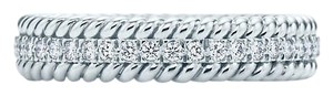Tiffany & Co. Schlumberger Rope Two - Row Ring