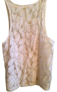 Leyendecker Lace Top Ivory