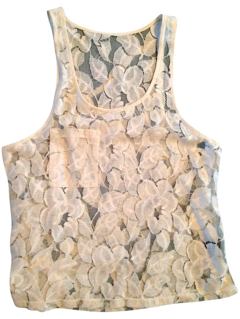 Leyendecker Lace Top Ivory Image 1
