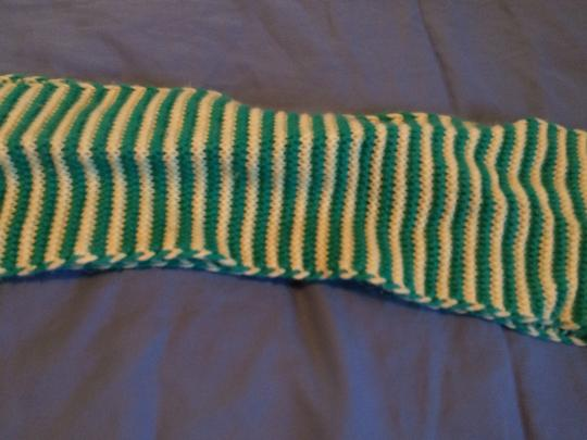 Abercrombie & Fitch A & F Knit Fringe Scarf Image 3