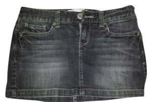 Aeropostale Mini Skirt Black/Grey